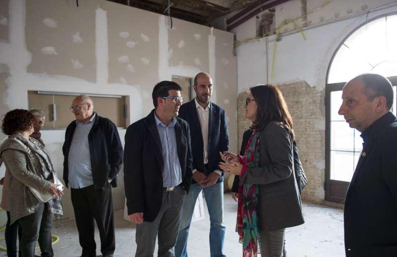 Visita del Presidente de la Diputació de València, Jorge Rodríguez.