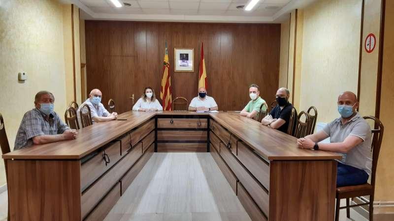Reunió municipal./EPDA