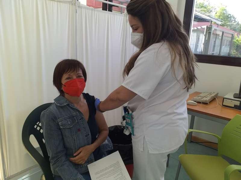 Vacunando en L