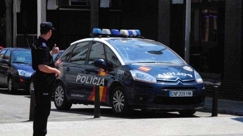 Imagen de archivo de un agente de la Policía Nacional. Archivo/EPDA
