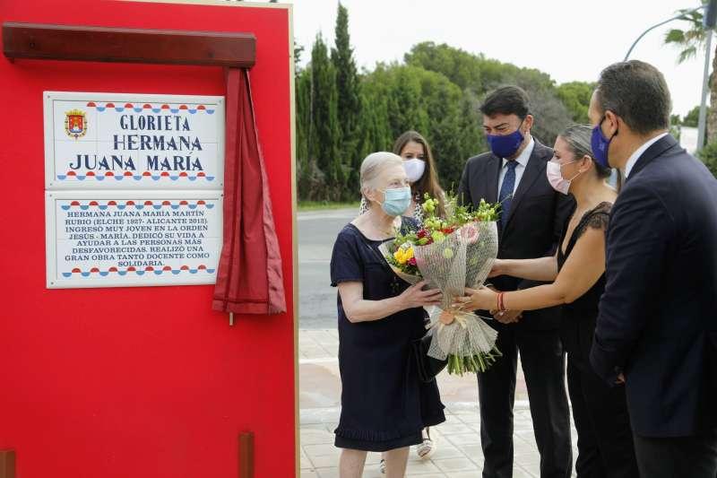 Inauguración de la placa/EPDA
