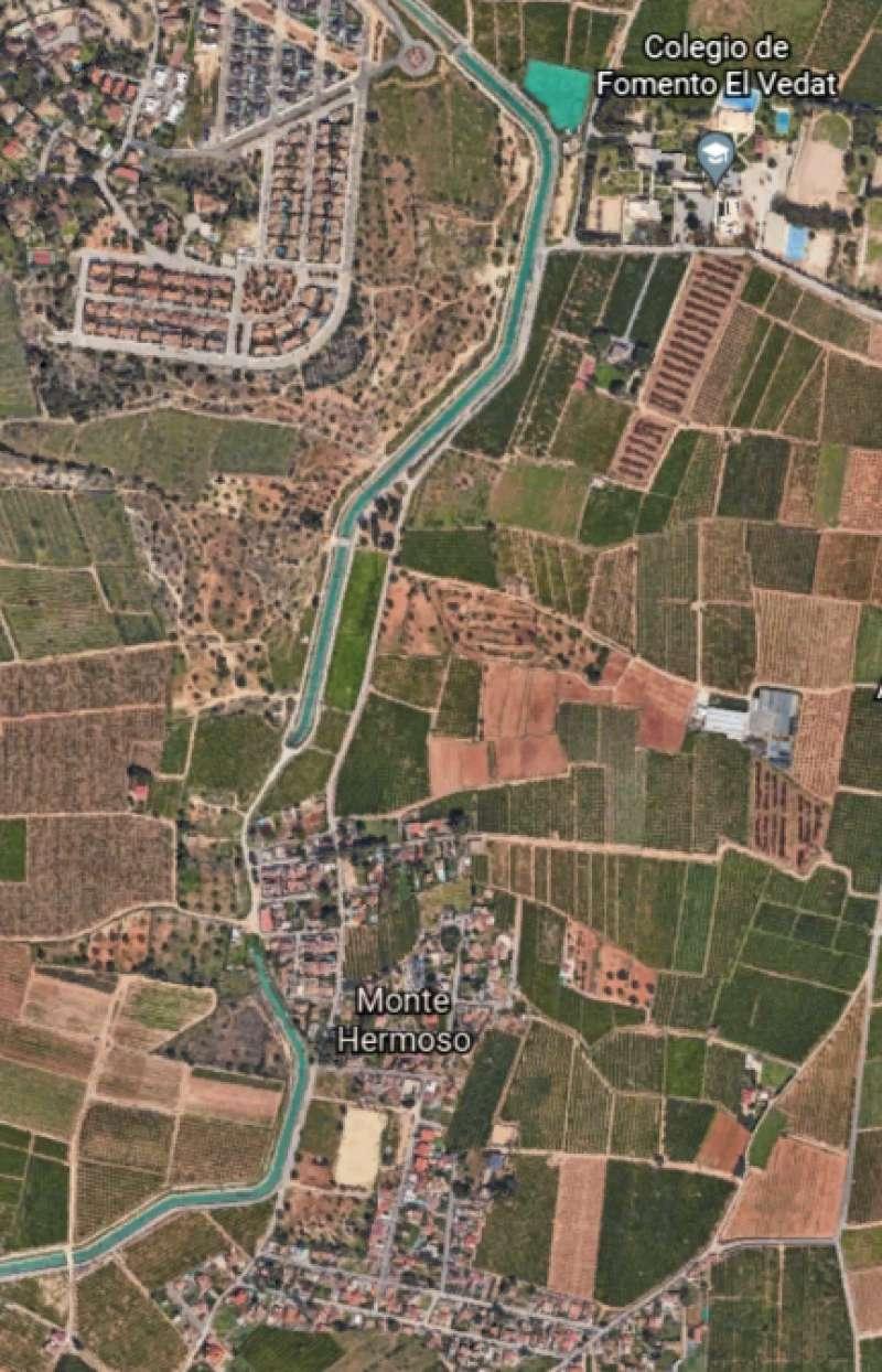 Vista aérea de Montehermoso.