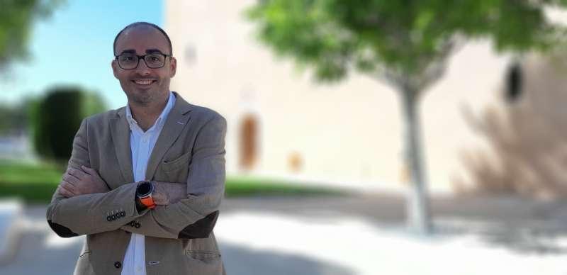 El candidato de Ciudadanos Héctor Romero. EPDA