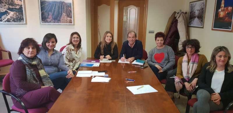 Reunión con Directora Instituto Valenciano de las Mujeres.