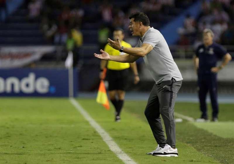 El entrenador del Elche, el argentino Jorge Almiron, durante un encuentro . EFE/ Archivo