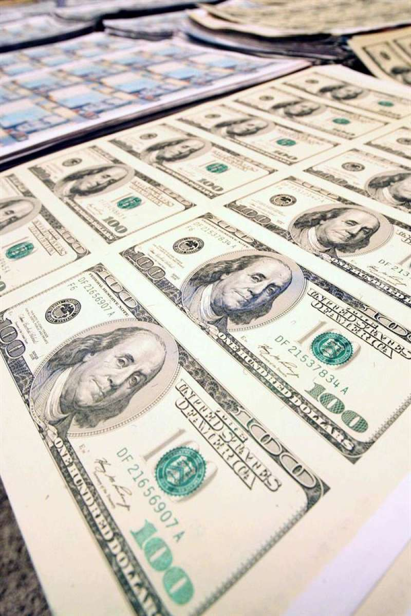 Imagen de billetes falsificados. EFE