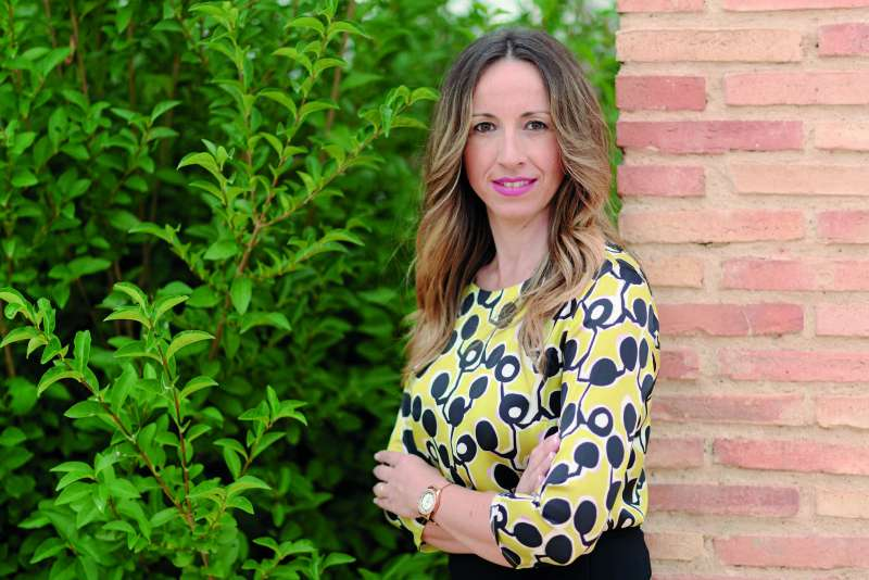 La alcaldesa de Museros, Cristina Civera. / EPDA