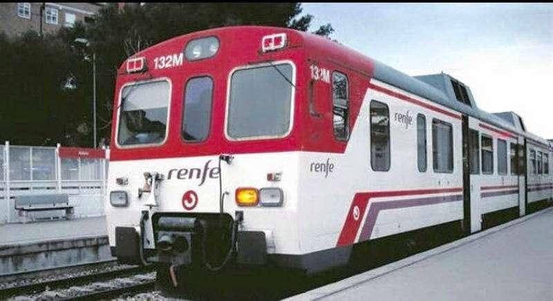 Imagen de archivo de un tren de Cercanías de Renfe. EPDA