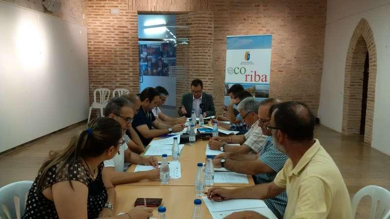 Reunión de los alcaldes del parque natural del Túria.//EPDA
