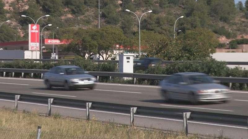 El radar que más recauda en España, en Sagunto. EFE