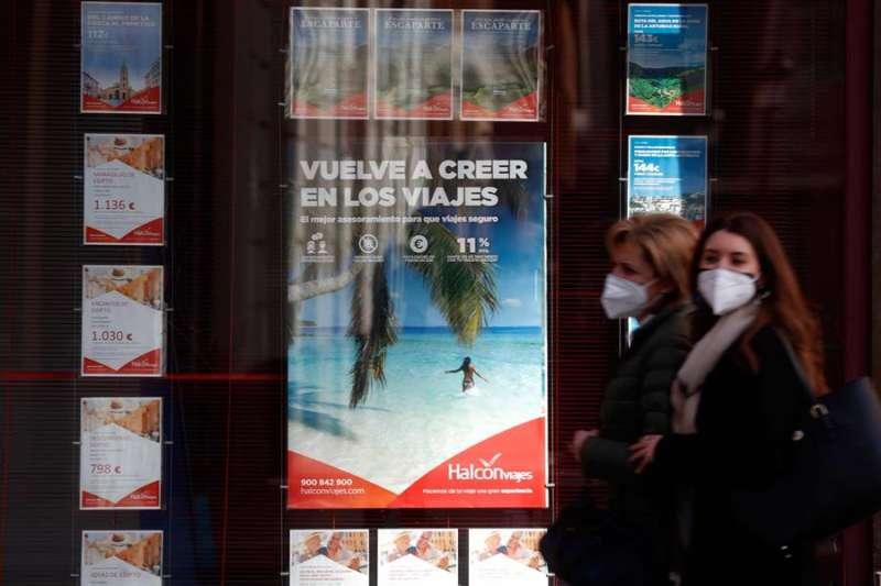 Agencia de viajes en València / EFE