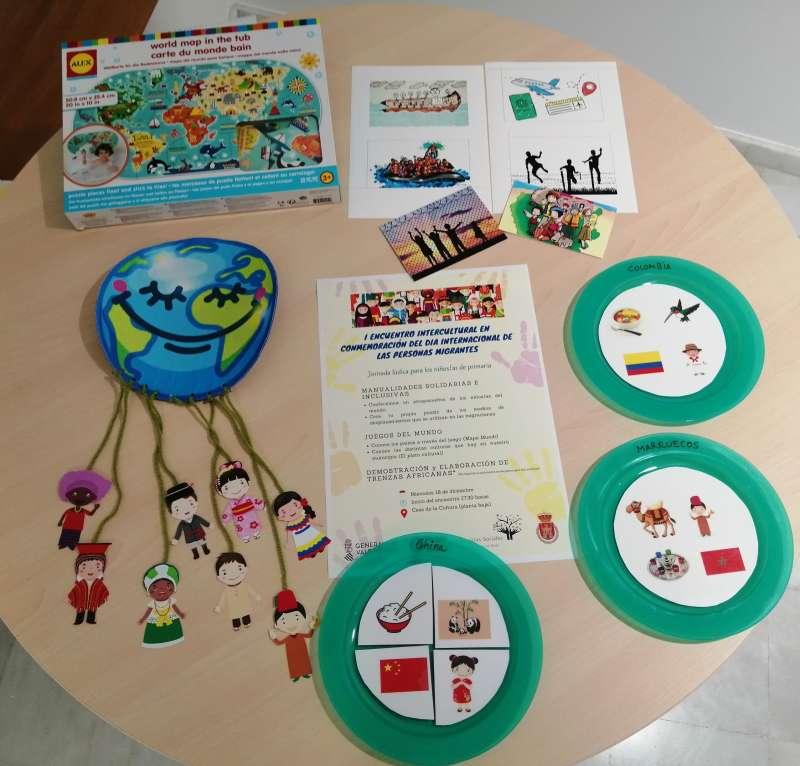 Actividades de la Jornada Intercultural de Utiel. EPDA