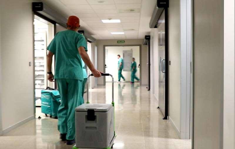Imagen del interior del Hospital La Fe.