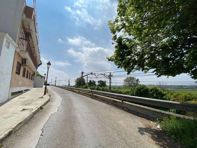 Zona por donde discurriá la Ronda Sur de Paterna