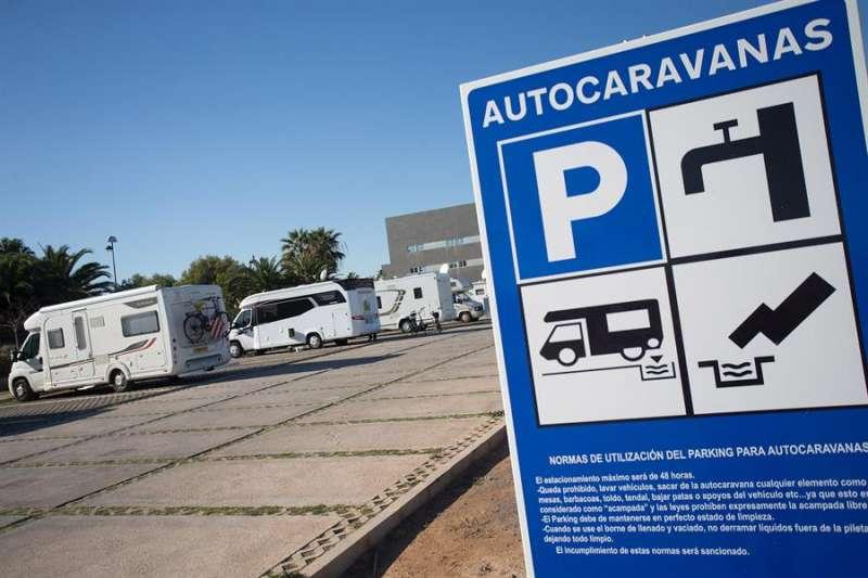 Imagen de un campin con caravanas. EFE/Domenech Castelló/Archivo