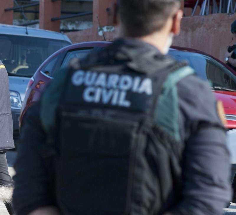 Agente de la Guardia Civil. EFE/Archivo
