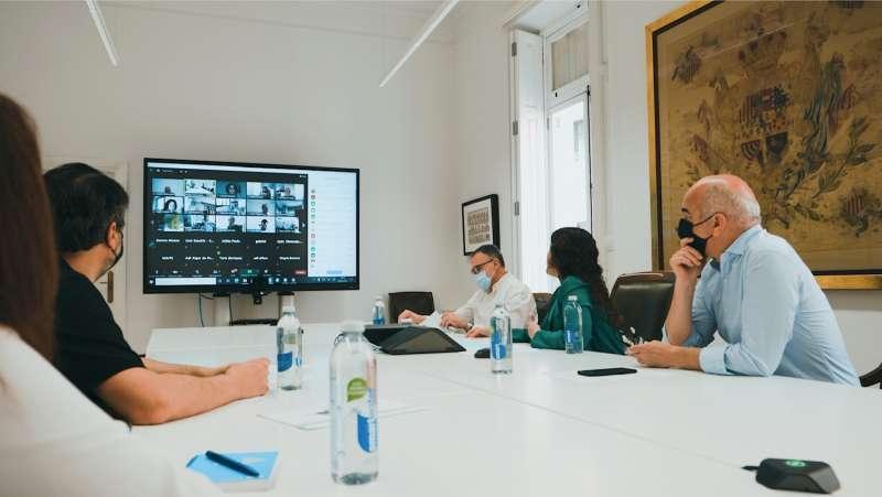 Presentación telemática de la nueva actualización de los portales municipales accesibles.