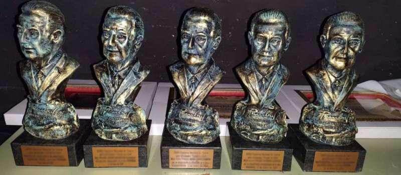 Imagen de los Rambales que se entregan a los ganadores del concurso de teatro