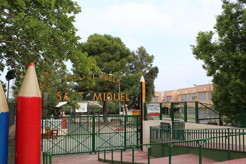 Colegio público San Miquel de Llíria. / EPDA