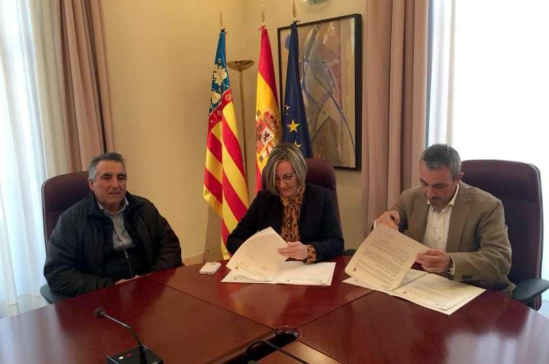 La firma en Valencia