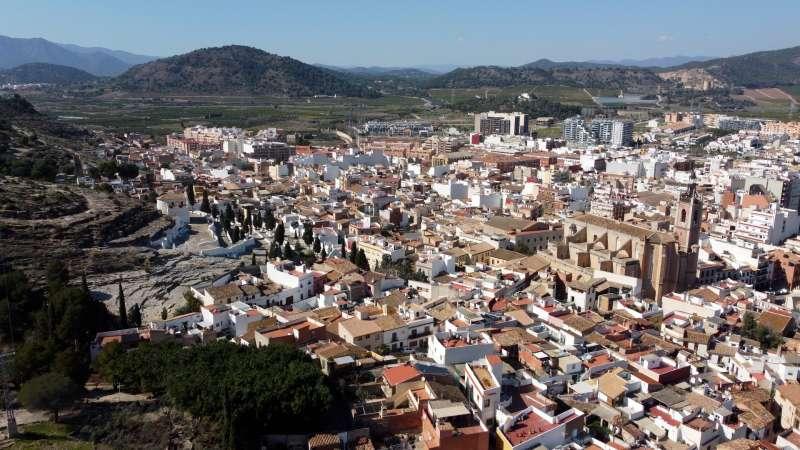 Casco histórico de Sagunt. Foto: Paco Quiles.