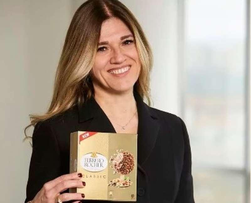 La directora general de Ferrero Ibérica, Antonella Sottero