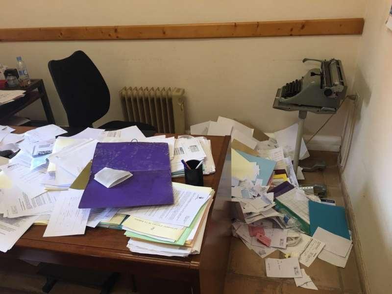 Uno de los despachos del ayuntamiento. EPDA