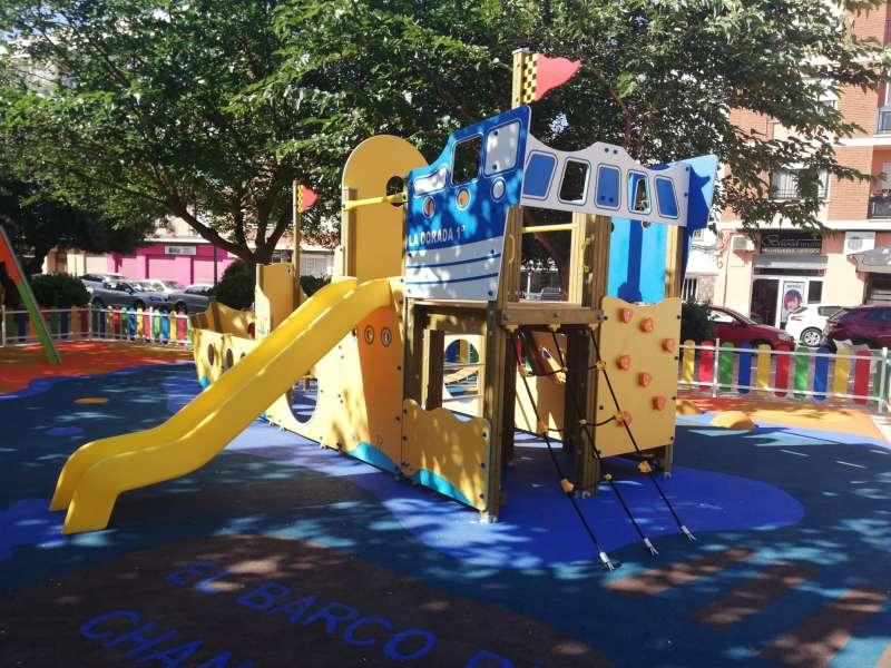 El nuevo parque infantil de Paterna