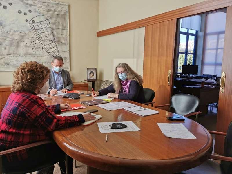 Reunión por parte del gobierno de Xirivella
