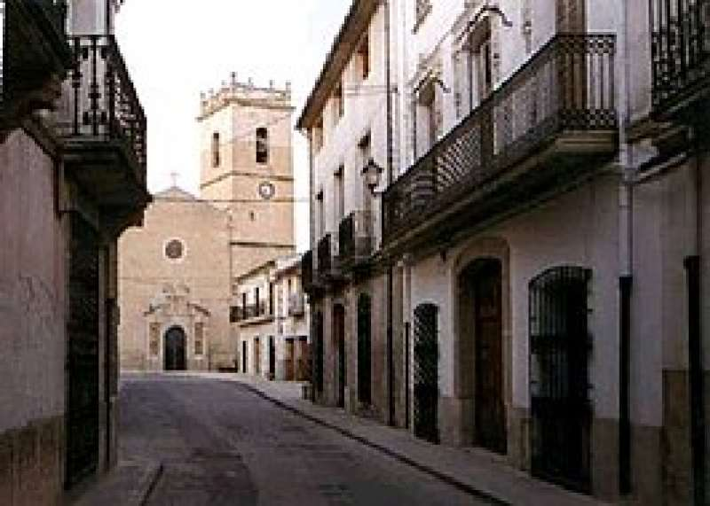 Calle Mayor de Castalla