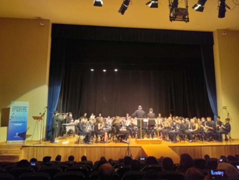 Banda Concierto en Auditori Joaquín Rodrigo de Sagunt. / EPDA