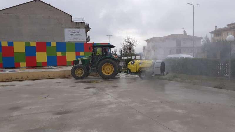 El ayuntamiento intensificará las desinfecciones