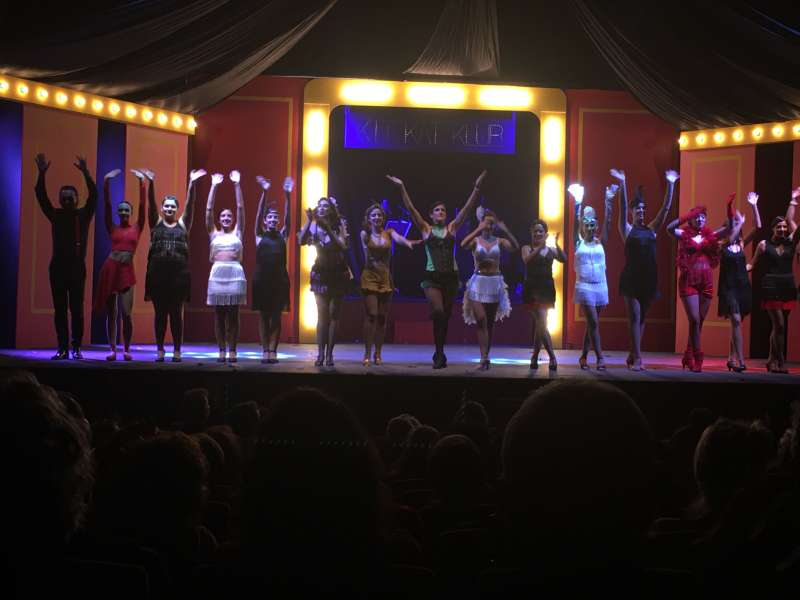 Actuación en el auditorio de Casinos de la UMC.  -EPDA