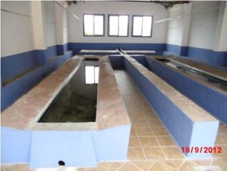 Vista del interior del llavaner de Faura. FOTO: DIVAL