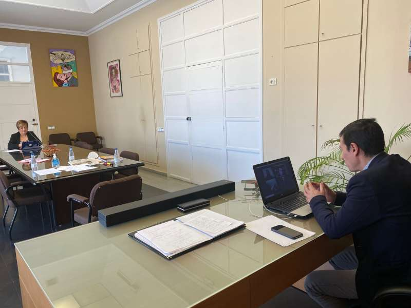 Reunión mantenida con los hosteleros de Burjassot. EPDA