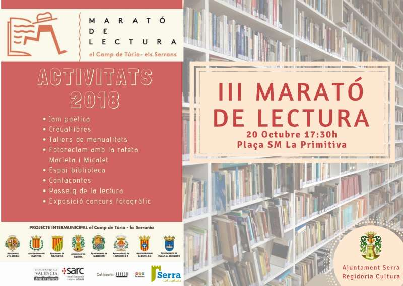 Cartell Marató de lectura