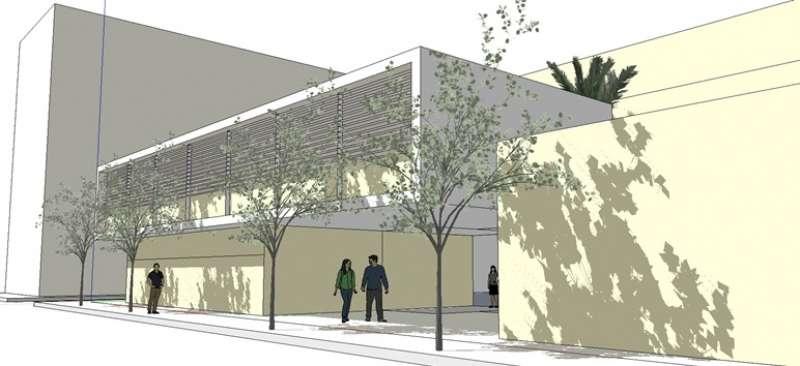 Projecte d?ampliació del centre de salut. / EPDA