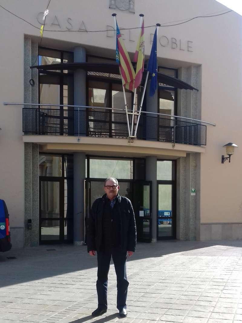 Joaquín Soler, exalcalde de Massalfassar. EPDA