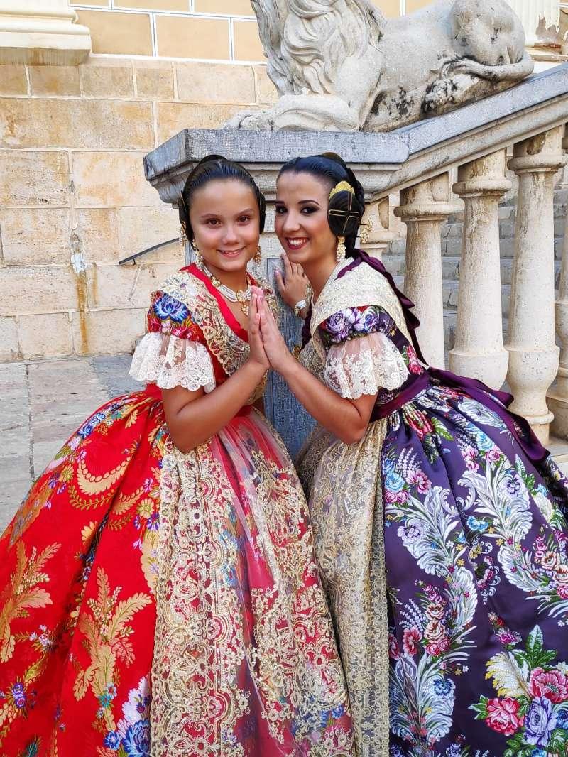 Daniela y Alba, juntas. / EPDA