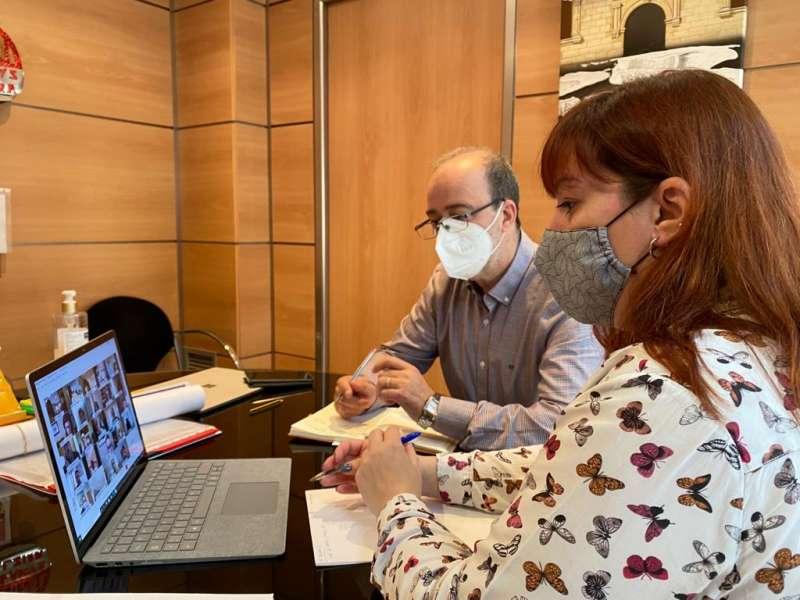Foto reunió Sanitat./EPDA