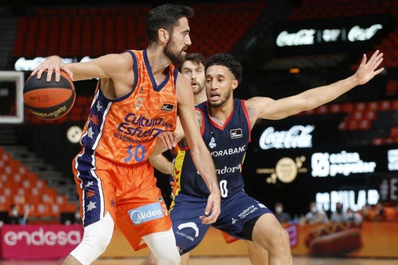 El Valencia Basket en partido / Miguel Ángel Polo