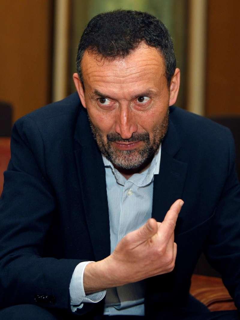 El alcalde de Elche, Carlos González, durante una entrevista con EFE.