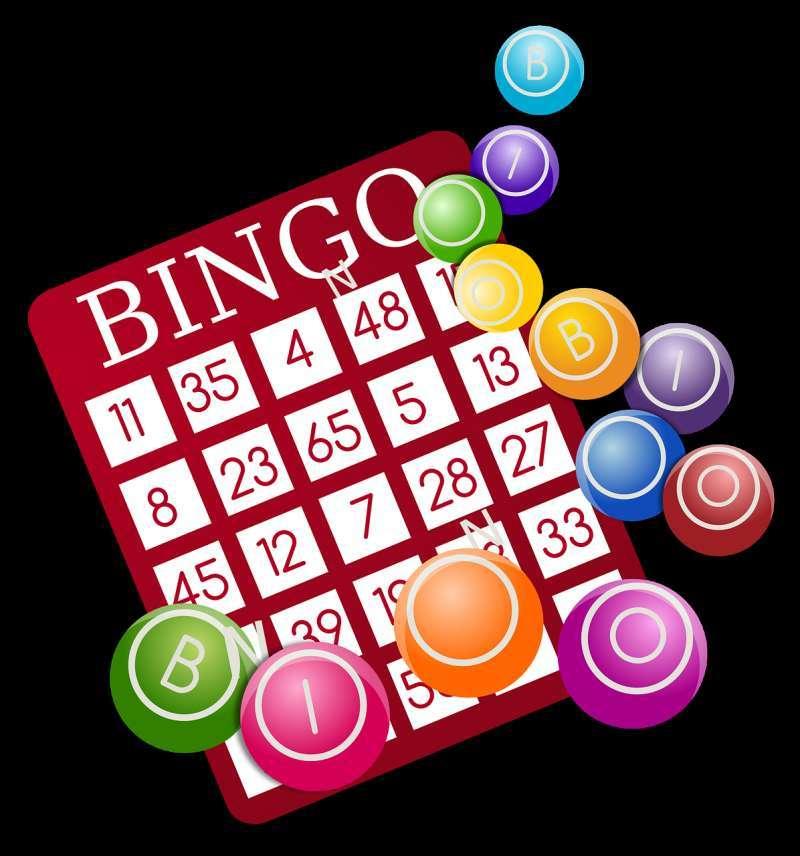 Cartón de bingo. EPDA