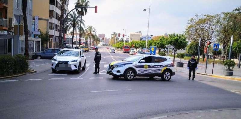 Agentes de la Policía Local de Alboraya. EPDA