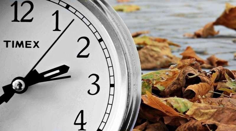 Cambio de hora al horario de invierno