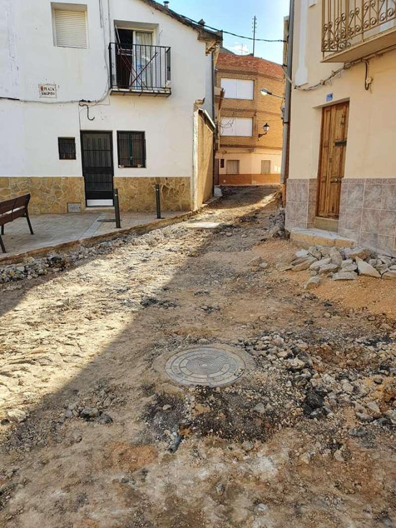 Chera está reparando toda la red de aguas potables de la localidad