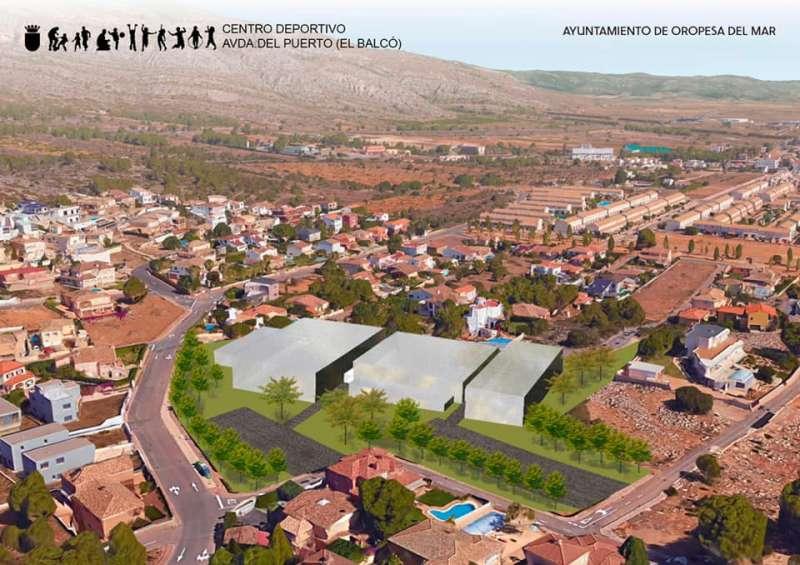 Nuevo centro deportivo/EPDA