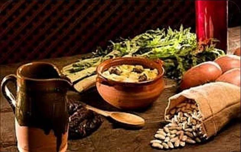 Ingredientes de la olla
