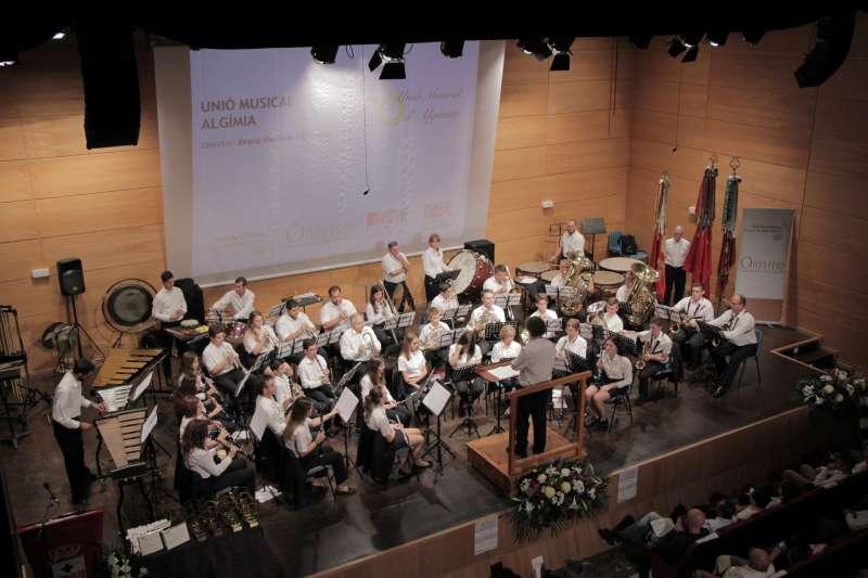 Actuación de la banda de música de Algímia. EPDA