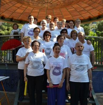 Participantes en el Taller de Yoga y Taichí. FOTO: EPDA.